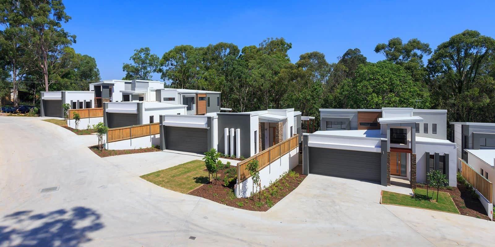 Homes in the Metacap Development at Kenmore